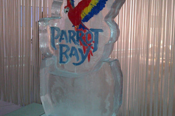 Parrot Bay Ice Sculpture
