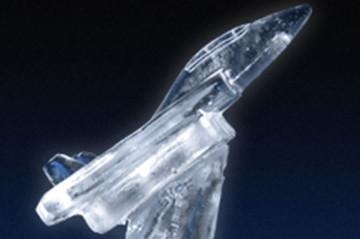 Aeroplane Ice Sculpture