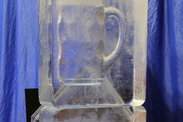 Beer Stein Ice Sculpture