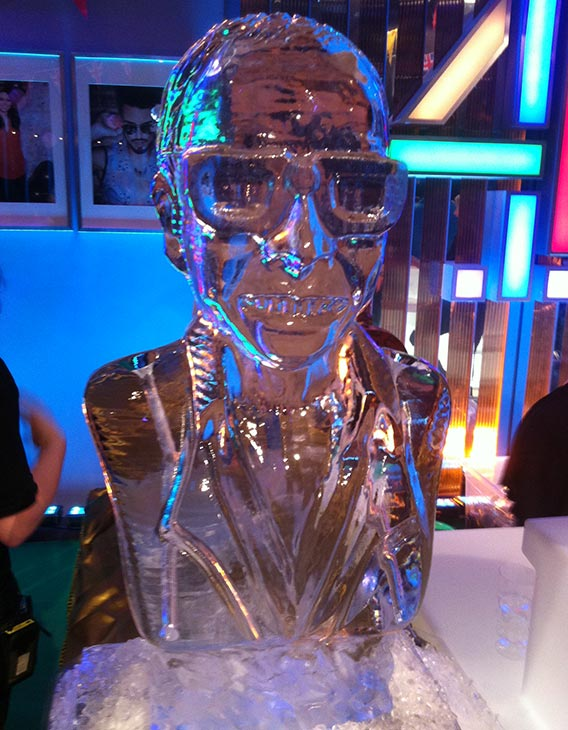 Vodka Luge Alan Carr