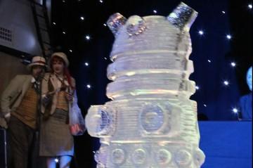 dalek ice sculpture