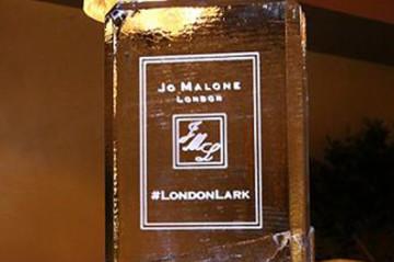 Jo Malone Perfume Bottle Ice Sculpture
